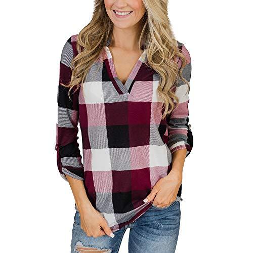 Blusas Mujer Primavera 2019 Fossen - Camisa Cuadros