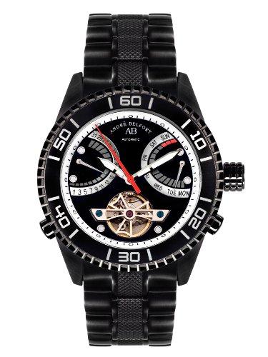 André Belfort Men's Voilier Ip Watch 410162 Black