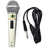 DYNAMIC MICROPHONE WIRED HI-FIDELITY VOZ UNI-DIRECTIONAL Y MÚSICA PROFESIONAL DJ, MIC CANTANDO, DISCURSOS