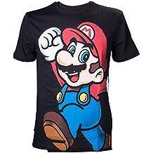 Nintendo Super Mario Bros. Super Bros. Let's Go Mario, Camiseta para Hombre
