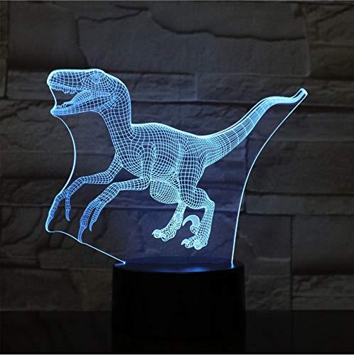 Optische Täuschung der Sichtlampe-3D führte Nachtlicht, 7 LED-Farben, die Beleuchtung ändern, ABS-Unterseite, USB-Gebühr für Hauptdekor, Spielwaren-Geschenk-Ideen-Weihnachtsgeschenk