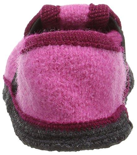 Kitz - Pichler Bobby Pferdchen, Chaussons courts, non doublées mixte enfant Rose - Pink (lipstick 9749)
