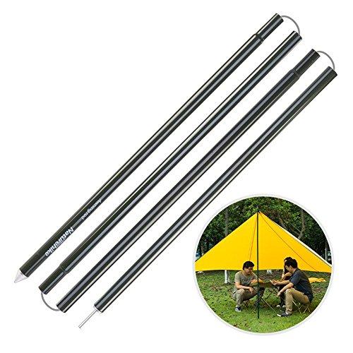 Stangen mit Aluminiumlegierung von NatureHike für Vorzelt oder Sonnenschutzzelt