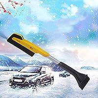 YQ Coche Pala De Nieve Cepillo Extensible para Nieve con Esponja Y Raspador De Hielo Agarre Espuma Cepillo para Nieve Camión para Coche Raspador De Hielo