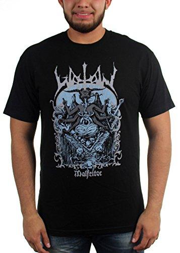 Watain Malfeitor-Maglietta da uomo nero Large