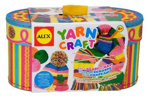 Alex Toys - Kit per imparare il lavoro a maglia in una pratica scatola con aghi e lana