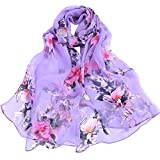 girlove Clearance Sale Women Lady Musical Note Chiffon Neck Scarf Shawl Muffler Scarves