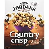 Jordans - Country crisp - Bolitas de cereales crujientes con rizos de chocolate negro - 400 g