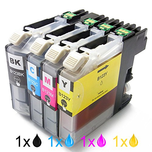 cartuccia-dinchiostro-compatibile-in-brother-lc123bk-lc123c-lc123m-lc123y-1x-nero-1x-ciano-1x-magent