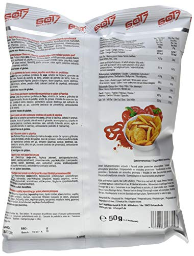 GOT7 Nutrition High Protein Chips, 6x50g - 5