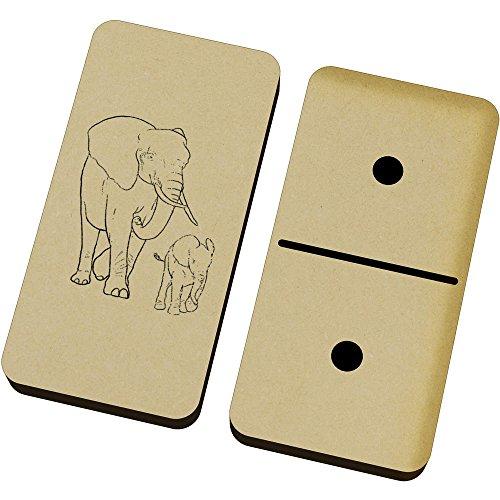 Kalb Box (Azeeda 'Elefant und Kalb' Domino-Spiel und Box (DM00019059))