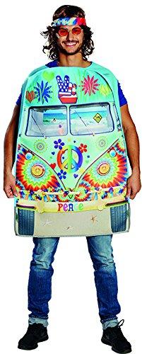 Kostüm Hippie Bus 1-tlg. Schaumstoffkostüm Unisex OneSize (Hippie Print Kostüme)