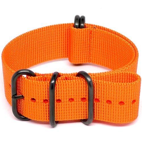 Fibbia Daluca cinturino nato in nylon balistico–arancione (PVD):...