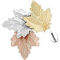 Noumanda donne Bijoux autunno foglia gioielli tre Maples leaves