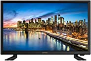 DYON Live 22 Pro 54,6 cm (22 Zoll) Fernseher (Full-HD, Triple Tuner (DVB-C/-S2/-T2), Hotelmodus, PC-Monitor-An