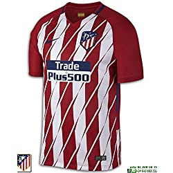SS Home jersey SPORT RED/WHITE/DEEP ROYAL BLUE 17/18 Atletico Madrid Nike M SPORT RED/WHITE/DEEP ROYAL BLUE