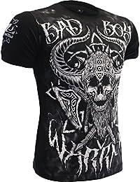 T-Shirt Bad Boy Viking-s MMA BJJ Fitness Grappling Camiseta