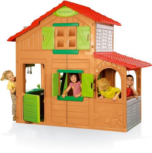 Smoby 320020 - Duplex Spielhaus 2Etagen