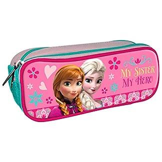 Portatodo Frozen Disney 3 Cremalleras