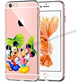 Blitz® MICKEY MOUSE motifs housse de protection transparent TPE SAMSUNG Galaxy M2 A3 2016