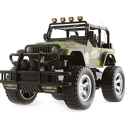 SSBH 2.4GHZ RC off-Road SUV Veicolo con luci a LED a Distanza Buggy Drift Toy Car di Ricarica elettrica da Corsa Modello for Bambini Adulti Toddlers Ragazze dei Ragazzi Gift Collectio