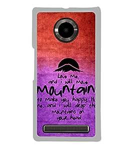 ifasho Designer Phone Back Case Cover YU Yuphoria :: YU Yuphoria YU5010 ( Allah Pink and White )