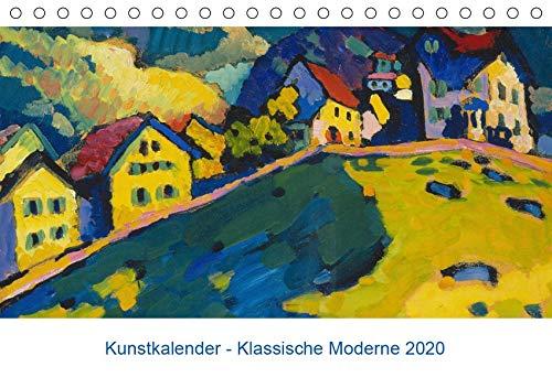 Klassische Moderne 2020 - Mit Kunst durchs Jahr (Tischkalender 2020 DIN A5 quer): Zwölf schöne Gemälde von bekannten Künstlern des 20. Jahrhunderts (Monatskalender, 14 Seiten ) (CALVENDO Kunst)