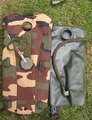 ZQ Trinkrucksäcke & Wasserblasen ( Schwarz / Braun / Others / Armeegrün / Camouflage , 600D Ripstop , 2.5L L) army green