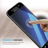 TAURI Schutzfolie Panzerglas für Samsung Galaxy A5 2017 [2 Stück][Volle Abdeckung] [9H Härte] Gehärtetem Glas Panzerglas Hartglas Displayschutzfolie - Schwarz Vergleich