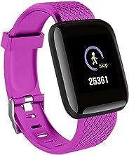 Smart Watch, Tracker Attività Tracker Attività, Ip68 Impermeabile Uomo Donna Color Full Touch Screen Fitness Watch Bluetooth