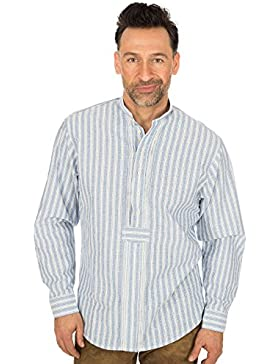 orbis Textil Trachtenpfoad Blau