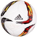 adidas Fußball Torfabrik Offizieller Spielball, White/Solar Red/Black/Solar Orange, 5, S90211