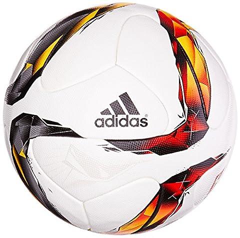 adidas Torfabrik Ballon White/Solar Red/Black/Solar Orange/Solar Gold/Silver Métallique Taille 5