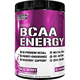 Evlution Nutrition BCAA Energy - Prestazione Elevata, Supplemento Aminoacidi Energizzate per Costruire i Muscoli, per la Ripresa e la Resistenza (30 Dosi) Bacca di Acai