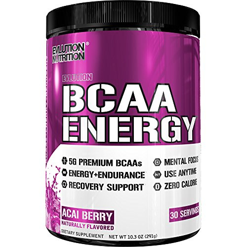 51lktKMok2L. SS500  - Evlution Nutrition BCAA Energy - High Performance Amino Acid Supplement for Anytime Energy, Muscle Building, Recovery…