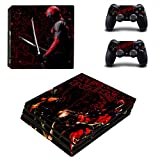 Playstation 4 Pro + 2 Controller Design Sticker Protector Set - Deadpool /PS4 P