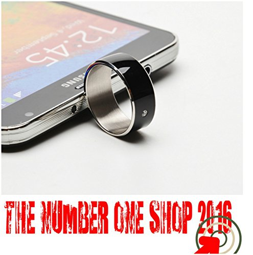 Anello Ring Multifunzione TIMER 2 SMART RING NFC per telefoni Android e (Anello Timer)
