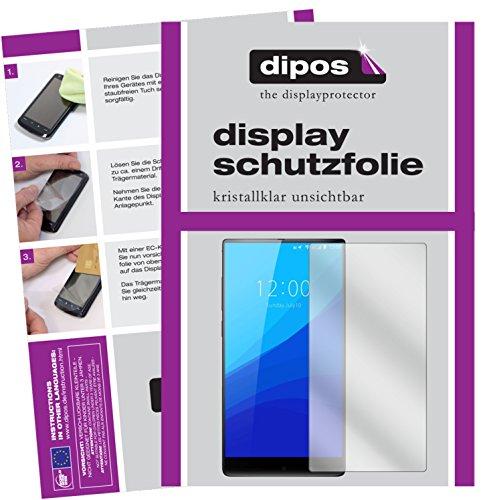 dipos I 6X Schutzfolie klar passend für Umidigi Crystal Plus Folie Bildschirmschutzfolie