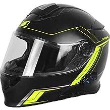 Origine Helmets 204271729100102, Delta Motion Matt – Casco para moto desmontable y con Bluetooth integrado