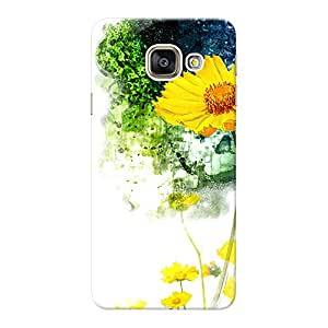 INKIF Floral Abstract Designer Case Printed Mobile Back Cover for Samsung Galaxy A9 (Mutlicolor)