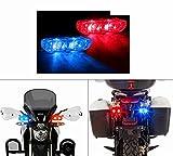 #8: Speedwav Sleek Twin LED Police Flasher Lights- For Bikes