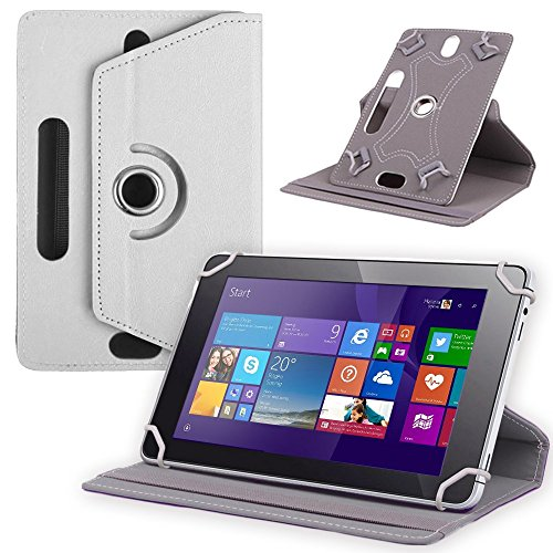 UC-Express Tablet Tasche f Jay Tech CANOX Tablet PC 101 Hülle Schutz Case Cover Schutzhülle, Farben:Weiß