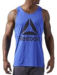 Reebok Workout Ready Supremium 2.0 Mens Training Vest - Blue