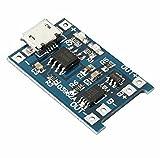 Demarkt Lithium-Akku Batterie Charger 1 Stk. USB 18650 Ladegerät Schutz Modul 5V 1A