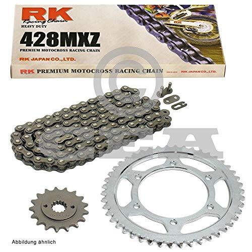 Kettensatz geeignet für Yamaha WR 125 R X 09-17 Kette RK 428 MXZ 134 offen 14/53 -