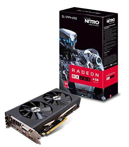 Sapphire Nitro Radeontm Rx 480 4gb Gddr5 256 Bit Memory Bus Pci-express 3.0 Graphisc Card 11260-02-20g