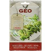 Geo Mostaza - Semillas para germinar, 12.7 x 0.7 x 20 cm, color marrón