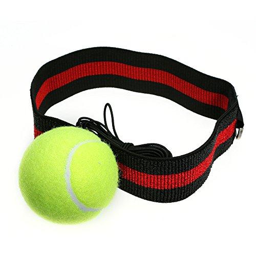 Forfar Kampf Ball Reflex Punch Combat Ball Mit Stirnband Reaktion Reflex Speed Muskel Trainings/übung Fitness K/örperbau