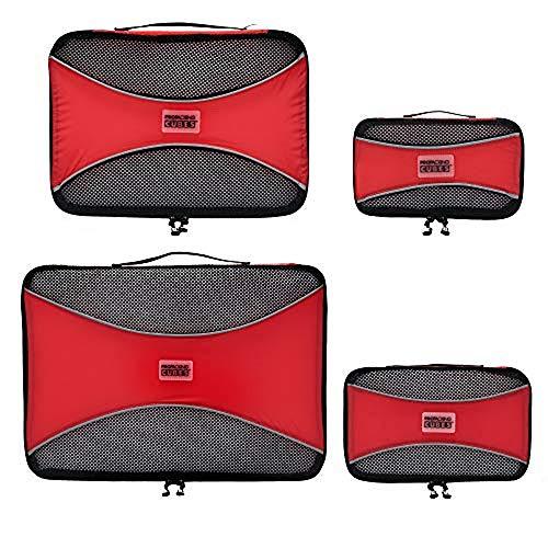 PRO Packwürfel für die Reise - Gepäck Organizer Taschen, Zubehör - Ultraleicht (Bei Walmart Gewichte)