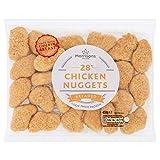 Morrisons Breaded Chicken Nuggets, 450g (Frozen)
